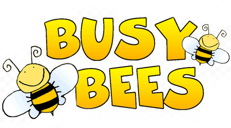 Busy bees are welcome!